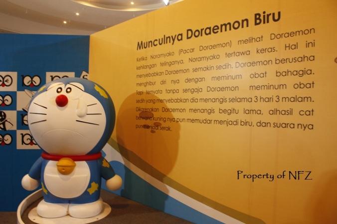 Doraemon galau gara-gara ketawain sama pacarnya. huhuhu