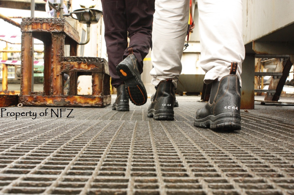Boots on the factory
